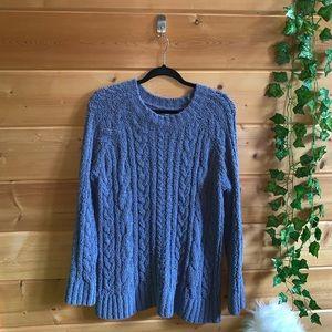 LA Hearts Blue Sweater